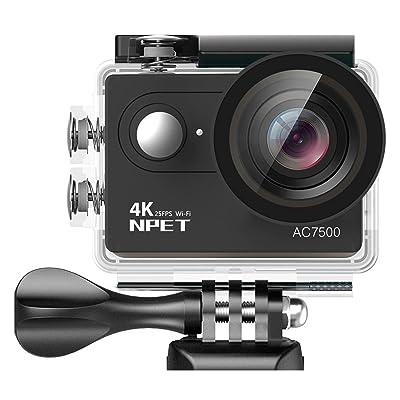 NPET AC7500 Wifi Sport Action Camera
