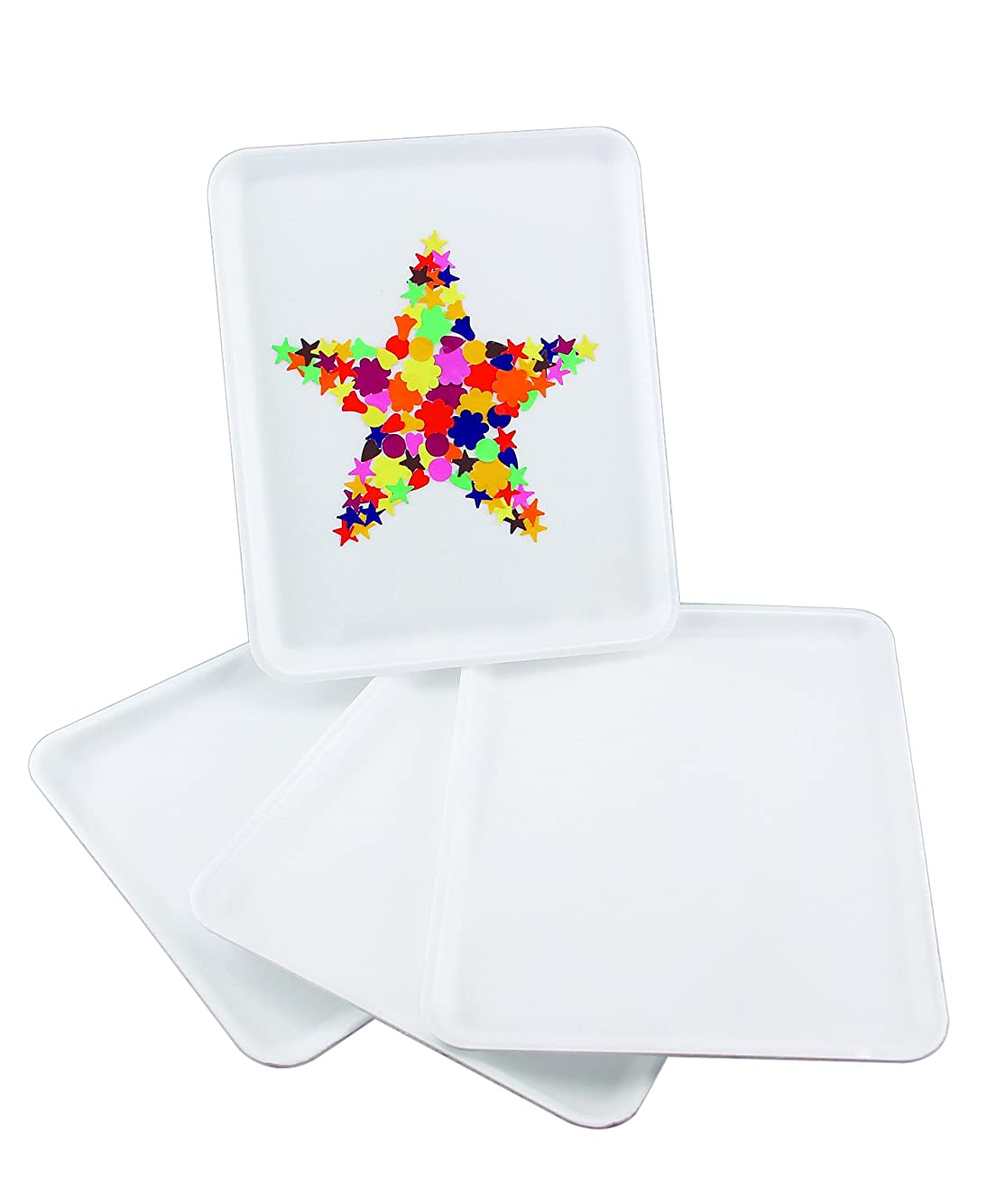 Hygloss Products Collage Foam Tray