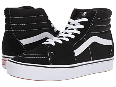 Vans ComfyCush SK8-Hi ((Classic) Black/True White) Athletic Shoes