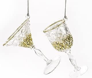 mini martini glass ornaments