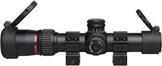 Sniper VT1-5X24FFPL First Focal Plane (FFP) Scope with Red/Green Illuminated Mil-Dot Reticle