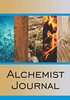 Alchemist Journal: Cornell style paper notebook for recording your journey as an alchemist.