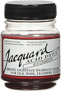 Jacquard Acid Dyes 1/2 Ounce-Crimson