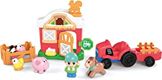 Kidoozie Lights 'n Sounds Farm Set - Playset Activity Toy for Children Ages 2 Years and Older (G02591)