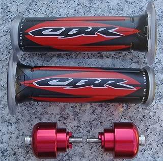 Red Logo Gel Hand Grips & Bar Ends for Honda CBR600RR CBR929RR CBR954RR CBR1000RR CBR1100XX CBR600 CBR 600 600RR 900 929 929RR 954 954RR 1000 RR 1000RR