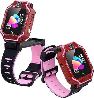 "JINQII Relógio Inteligente Infantil HD Dual Câmera, Telefone Rotativo 360° 1,4"" Display LBS Tracker Touch Color Screen SOS..."
