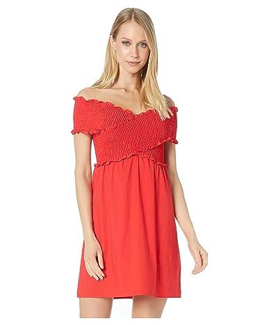 Show Me Your Mumu Mandy Smocked Dress (Cherry Poplin) Women