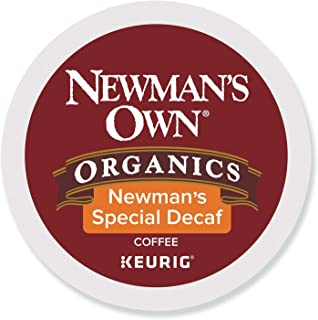 Newman's Own Organics Special Blend Decaf, Single-Serve Keurig K-Cup Pods, Medium..