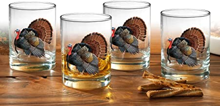 Turkey Double Old Fashioned Glasses by David A. Maass