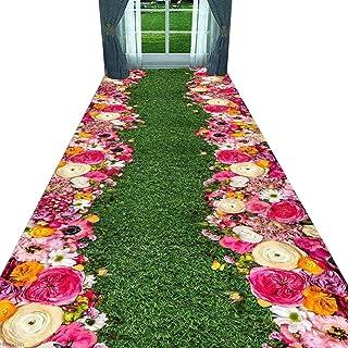Non-Slip Carpet YANZHEN Hallway Runner Rugs Non-Slip Water Absorption No Shedding Blended Fiber Easy to Clean Wear-Resista...