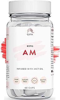 Keto Plus Actives AM (60 CAPS) - Quemagrasas potente para adelgazar y rapido. Quema grasas &