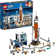 LEGO 60228 City Deep Space Rocket and Launch Control Mars Expedition Set, Space Toys for Kids inspired by NASA with Astronauts, Scientists and Robot Minifigures