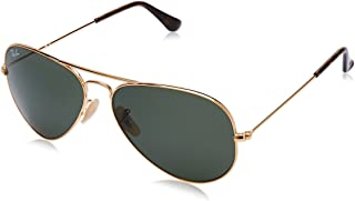 Ray-Ban UV Protected Aviator Men's Sunglasses - (0RB3025I18158|58|Green Color)