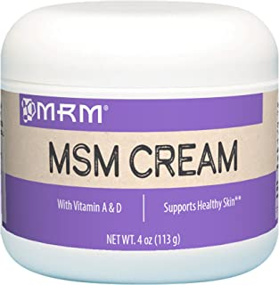 MRM MSM Cream with Vitamin A & D - 4 Oz.