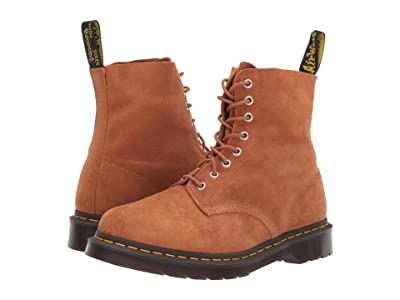 Dr. Martens 1460 Pascal Core (Tan Super Hi Suede Waterproof) Boots
