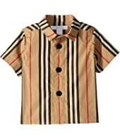 Burberry Kids - Sammi Icon Button Up Shirt (Infant/Toddler)