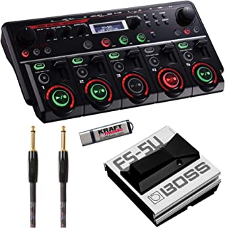 BOSS RC505 Loopstation with FS5U Footswitch, Cable, and Flash drive