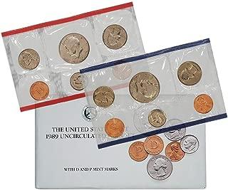 1989 Various Mint Marks US Uncirculated P&D Mint Set Original Uncirculated