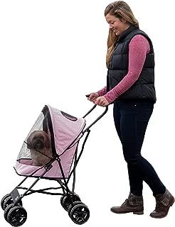 Pet Gear Ultra Lite Travel Stroller, Compact, Large Wheels, Lightweight, 38