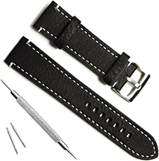 OliBoPo Handmade Vintage Replacement Leather Watch Strap/Watch Band