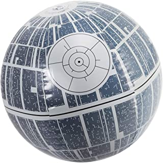 """14"""" Gray Star Wars Death Star Large Light Up Inflatable Beach Ball Swimming Pool Toy"""