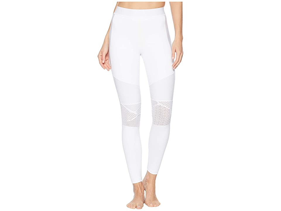 Image of ALALA Harley Tights (White Lace) Women's Casual Pants