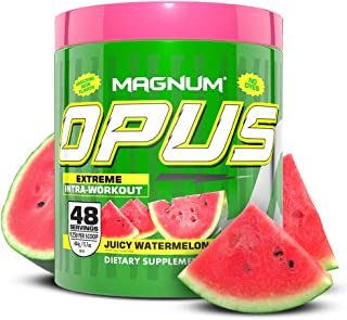 Magnum Nutraceuticals Stimulant-Free Opus Intra-Workout Powder (48 Servings, Juicy Watermelon)