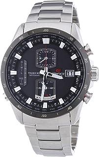 Casio - Edifice Premium - Reloj de Cuarzo para Hombre, con Correa de Acero Inoxidable, Color Plateado