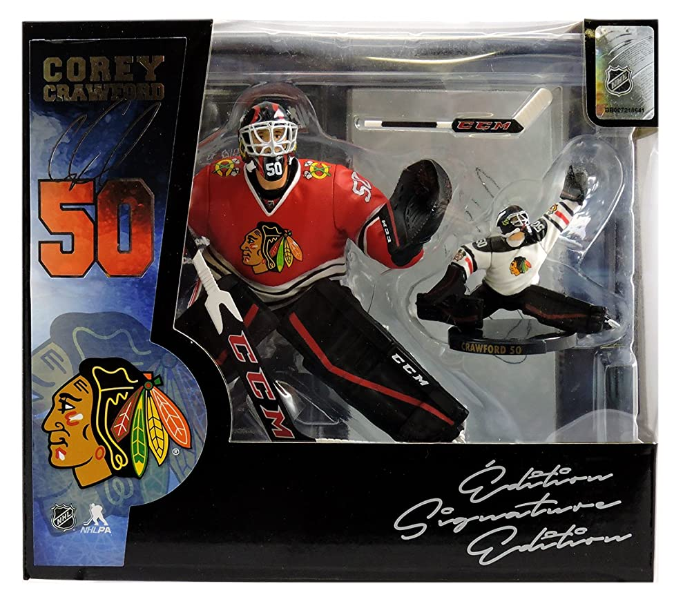 Corey Crawford Chicago Blackhawks Imports Dragon 2016-17 NHL 2-Pack Box Set Limited Edition of 688 Exclusive