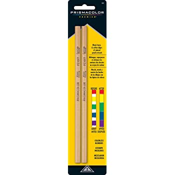 Prismacolor 962 Premier Colorless Blender Pencils, 2-Count