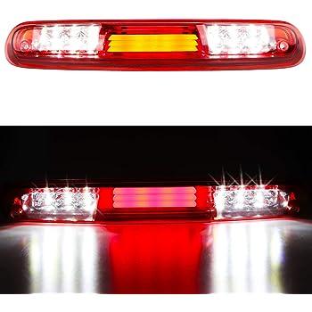 SPPC Third 3rd Brake Light Red Smoke LED Cargo Lamp for 2014-2018 Chevy Silverado GMC Sierra