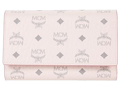 MCM Visetos Original Flap Wallet/Trifold Medium
