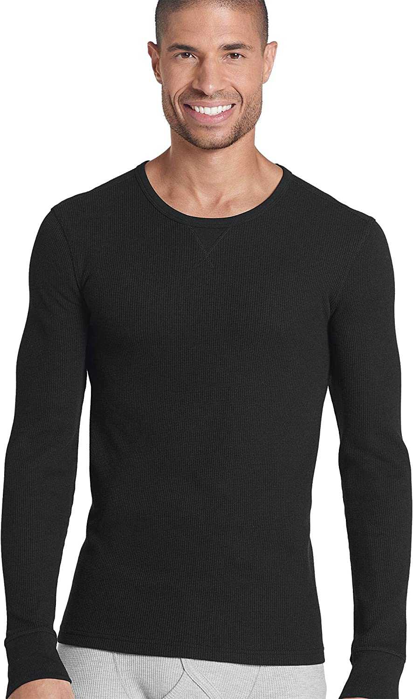Jockey Men's T-Shirts Tall Man Long Sleeve Waffle Crew