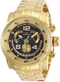 Invicta Men's Pro Diver Quartz Watch with Stainless Steel Strap, Gold, 24 (Model: 29968)