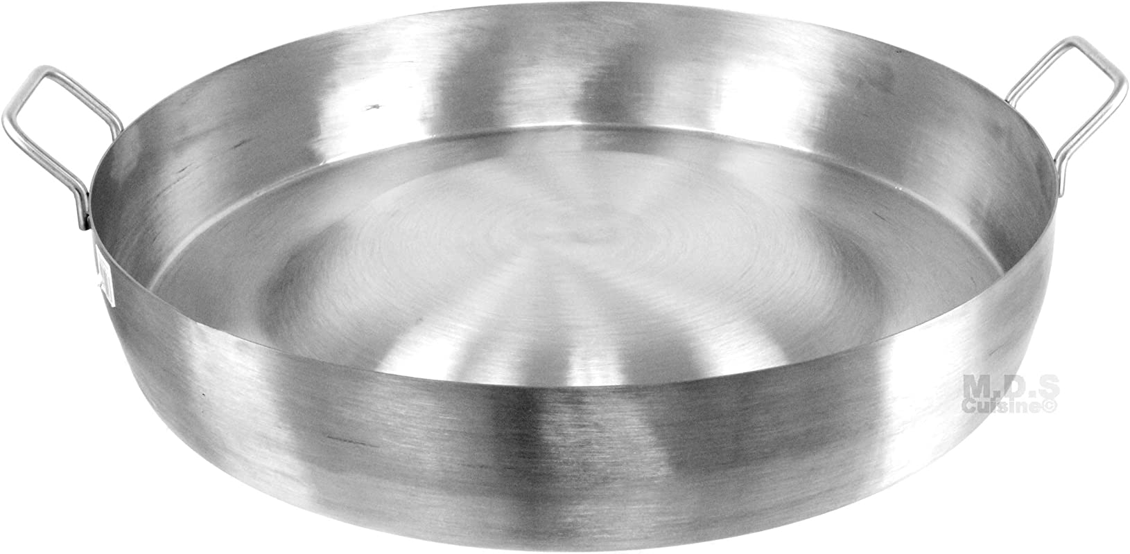 Comal Convex 21 5 Stainless Steel Panza Arriba Heavy Duty Commercial Mexican Griddle Extra High Rim