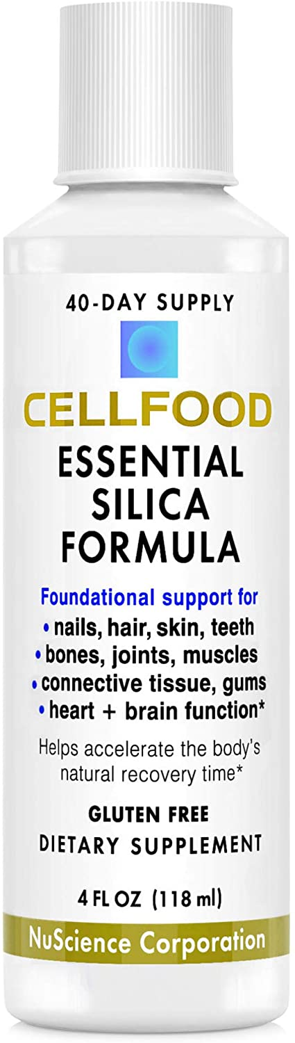 Cellfood Essential Silica Anti-Aging Special sale item Formula Supports Choice - fl oz 4