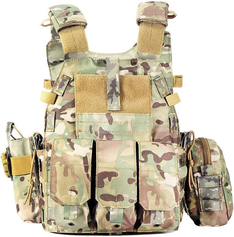 YUANZHOU Outdoor Tactical Vest Camouflage Super beauty product restock quality top Sports Equipmen 1 year warranty