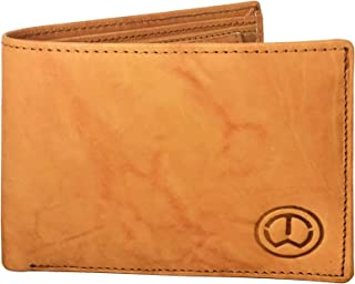 TnW Bifold Wallet for Men - Leather, Tan