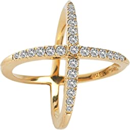 Elizabeth and James - Windrose Pave Ring