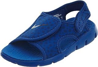 bc6405cbe092 Nike Sunray Adjustable 4, Chaussures de Plage & Piscine Fille, Bleu  Blau/Dunkelblau