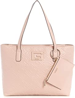 جيس حقيبة يد كبيرة بحمالة للنساء , زهري فاتح - QG773824