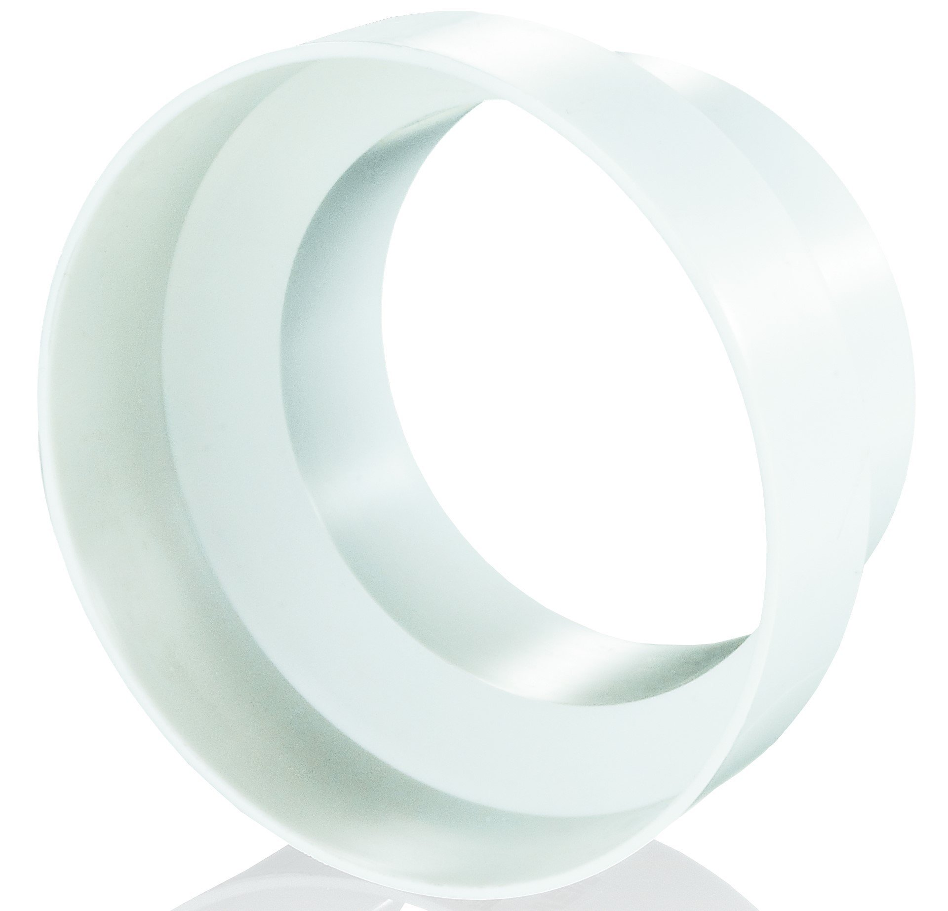 Vents Acople Reductor/Reducción Plástico para Extractor/Tubo (200mm/150mm): Amazon.es: Hogar