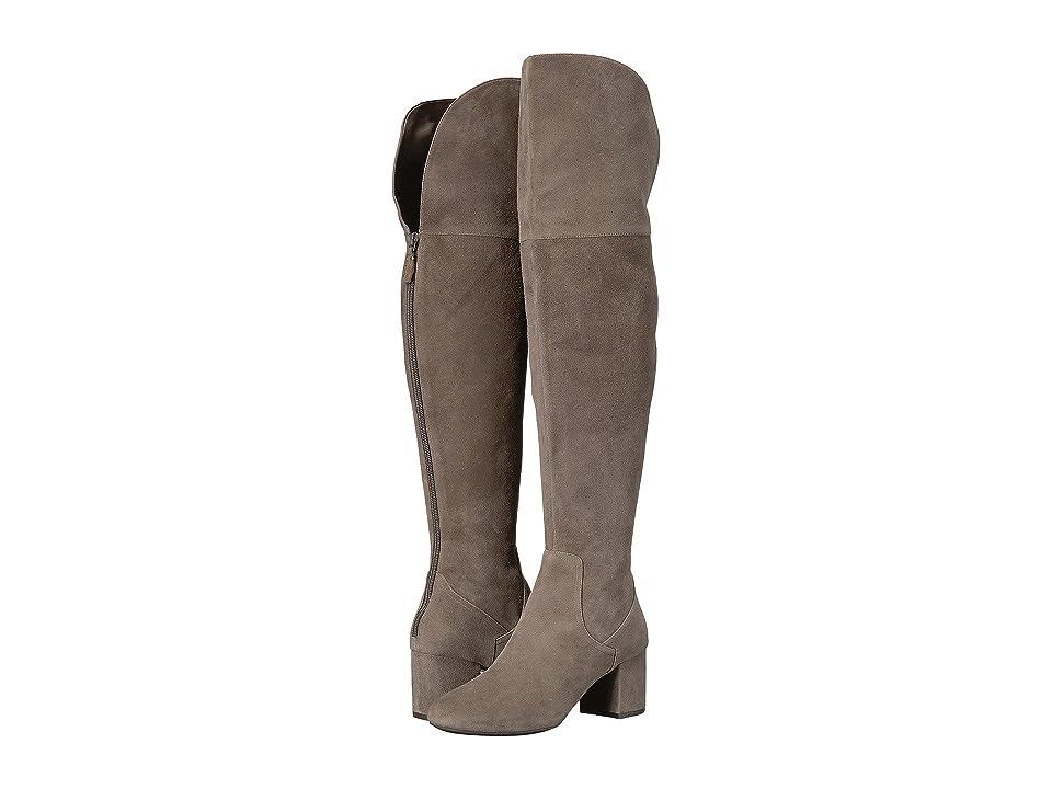 6f6aa80869a Cole Haan Raina Grand OTK Boot II (Morel Suede) Women