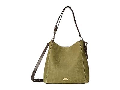Frances Valentine June Hobo (Olive/Chocolate) Handbags