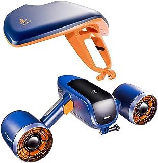 WINDEK Sublue vithaj mix undervattenscooter med actionkamerafäste dubbel motor 40 m vattentät elektrisk scooter för vatten...