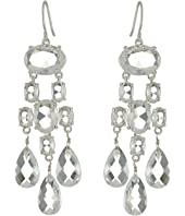 LAUREN Ralph Lauren Faceted Stones Chandelier Earrings