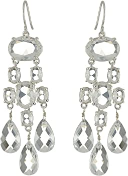LAUREN Ralph Lauren - Faceted Stones Chandelier Earrings