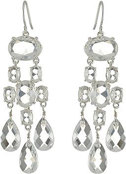 LAUREN Ralph Lauren Faceted Stones Chandelier Earrings
