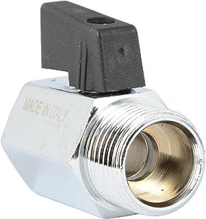 VARIOSAN 13149 Distribuidor en Y con v/álvulas de Cierre Adaptador de 1//2 y 3//4, lat/ón