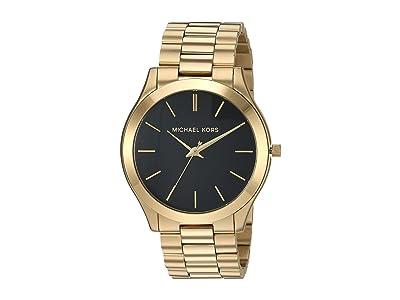 Michael Kors MK8621 Slim Runway (Gold) Watches